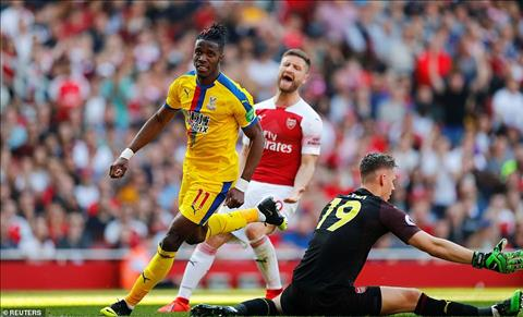 Arsenal 2-3 Crystal Palace
