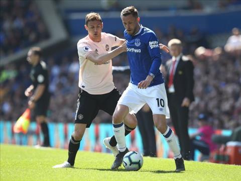 Matic bị chỉ trích không thương tiếc sau trận thua Everton hình ảnh