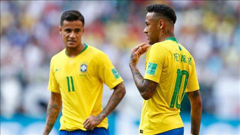 Tiền đạo Neymar bị mất băng thủ quân ở ĐT Brazil hình ảnh