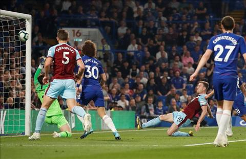 Chelsea bi Burnley cam hoa