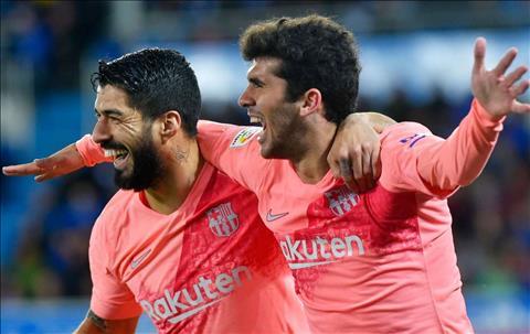 Carles Alena phát biểu sau trận Alaves 0-2 Barca hình ảnh