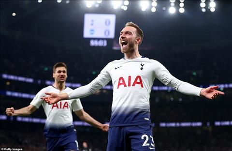 Tiền vệ Christian Eriksen của Tottenham gia nhập Real Madrid hình ảnh