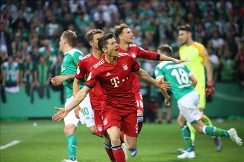Video bàn thắng kết quả Bremen vs Bayern Munich 2-3 cúp quốc gia hình ảnh
