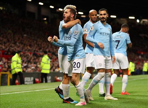 Cuộc đua vô địch Premier League 201819 Cờ trong tay Man City hình ảnh 2