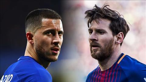 Tiền vệ Hazard khó có thể chạm tới đẳng cấp của Messi hình ảnh