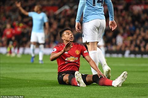 Pha bolo cua Lingard khien M.U phai nhan that bai 0-2 truoc Man City