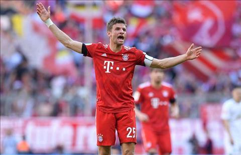 Thomas Muller muốn Bayern Munich giành cú đúp danh hiệu quốc nội hình ảnh