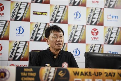 HLV Chung Hae Soung nói gì sau trận hòa thất vọng tại Nam Định hình ảnh