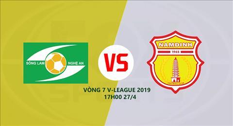SLNA vs Nam Định xem trực tiếp trận đấu chiều nay ở đâu  hình ảnh