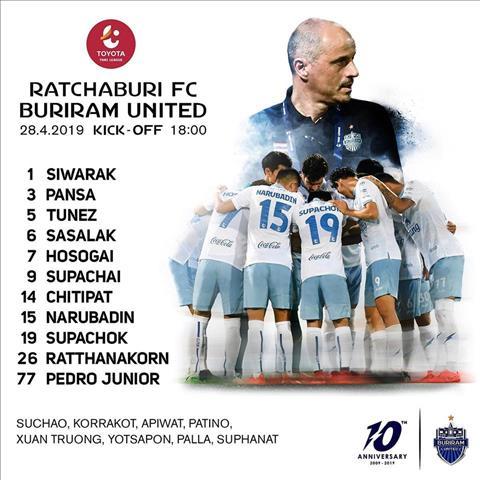 Trực tiếp Ratchaburi vs Buriram, link xem xuân trường thi đấu hình ảnh
