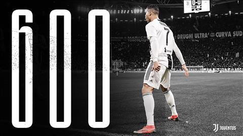 HLV Allegri ca ngợi Ronaldo sau cột mốc 600 bàn thắng hình ảnh