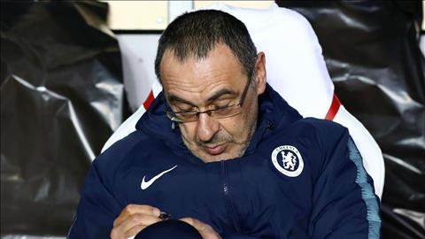 Jorginho nói về khả năng Maurizio Sarri bị Chelsea sa thải hình ảnh