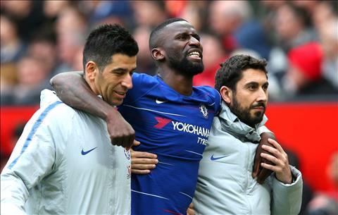 Antonio Rudiger dính chấn thương, Lampard vẫn muốn mạo hiểm hình ảnh