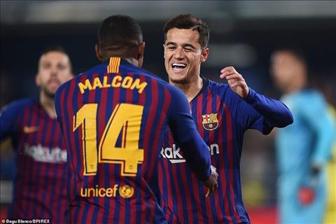 Barca bán Malcom ở Hè 2019 nếu nhận được 60 triệu euro hình ảnh