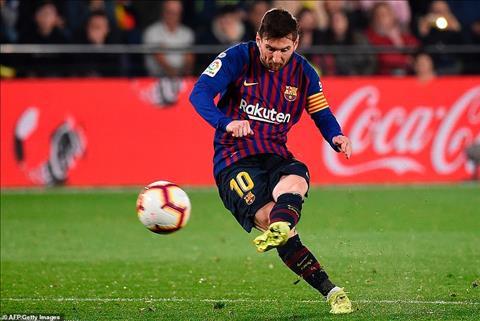 Lionel Messi đá phạt trực tiếp thành bàn vẫn xếp sau Ronaldo hình ảnh