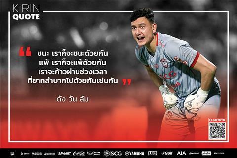 Dang Van Lam len tieng ve nhung kho khan o Muangthong United.