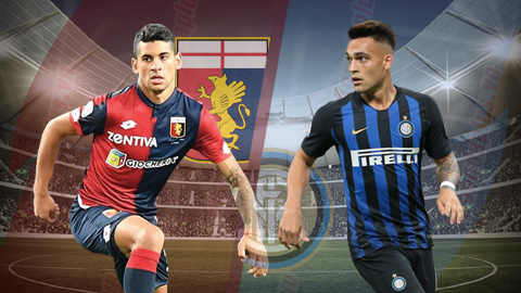 Genoa vs Inter Milan 2h00 ngày 44 (Serie A 201819) hình ảnh