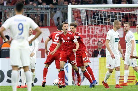 Video bàn thắng Bayern Munich vs Heidenheim 5-4 cúp quốc gia Đức hình ảnh