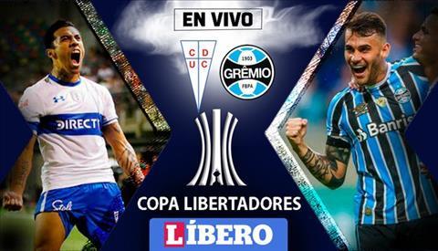 Universidad Catolica vs Gremio 5h00 ngày 54 (Copa Libertadores 2019) hình ảnh