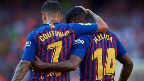 Coutinho va Malcom duoc dua vao danh sach thanh ly