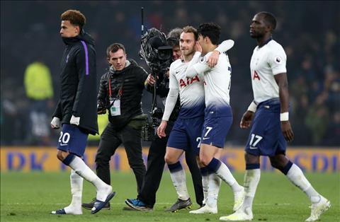 Những con số biết nói sau trận đấu Tottenham 2-0 Crystal Palace hình ảnh