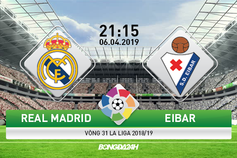 Preview Real Madrid vs Eibar