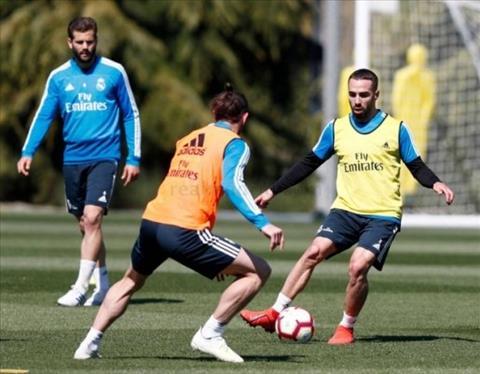 HLV Zidane nhận tin mừng Dani Carvajal bình phục chấn thương hình ảnh