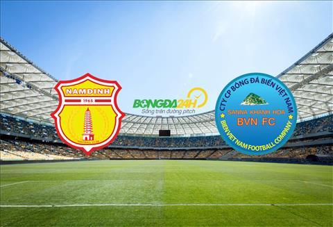 Nam Định vs Khánh Hòa Xem trực tiếp bóng đá hôm nay ở đâu  hình ảnh