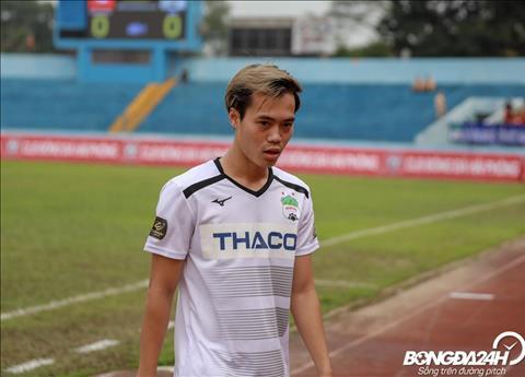 Tien dao Van Toan bo lo co hoi ghi ban o tran Hai Phong 1-0 HAGL