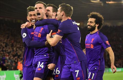 Liverpool thang Southampton Henderson an mung
