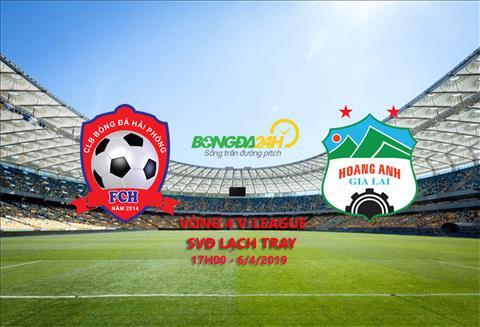 Hải Phòng vs HAGL xem trực tiếp vòng 4 V-League 2017 ở đâu  hình ảnh