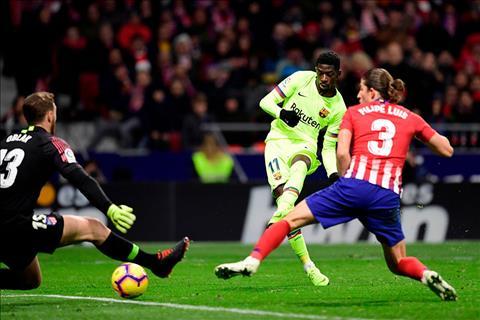 Barca vs Atletico Madrid 1h45 74 trực tiếp trên kênh sóng nào hình ảnh