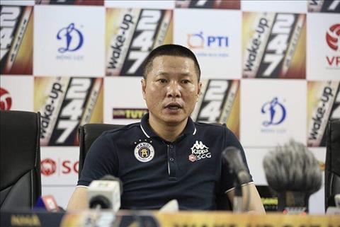 HLV Chu Đình Nghiêm chia sẻ sau trận thắng SLNA 4-0 hình ảnh