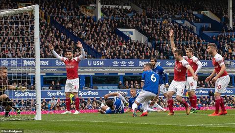 Thua Everton, Mesut Ozil ném áo khoác về phía HLV Unai Emery hình ảnh