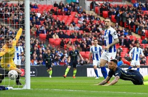 Man City 1-0 Brighton Jesus ghi ban