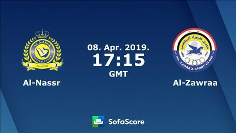 Al Nassr vs Al Zawraa 0h15 ngày 94 (AFC Champions League 2019) hình ảnh