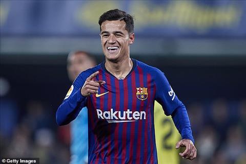 Rời Barca, Philippe Coutinho tới PSG ở Hè 2019 hình ảnh