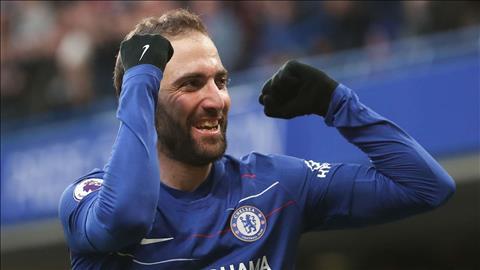 Tiền đạo Higuain bày tỏ tham vọng ở lại Chelsea sau mùa giải này hình ảnh