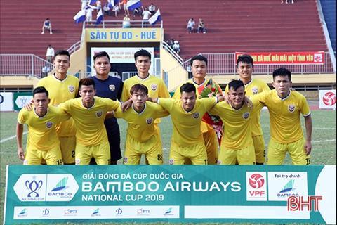Hồng Lĩnh Hà Tĩnh có chiến thắng đầu tiên tại giải hạng Nhất hình ảnh