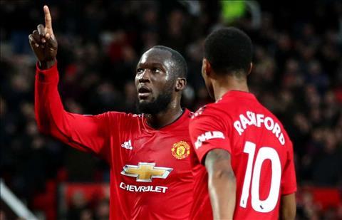 Romelu Lukaku khen ngợi Marcus Rashford, đối thủ tại MU hình ảnh