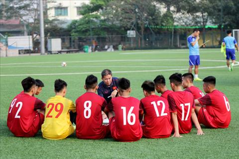 Các cầu thủ U18 Việt Nam khó có thể tham dự Sea Games 30 hình ảnh