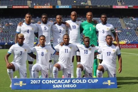 DT Curacao se la doi thu cua DT Viet Nam tai King Cup 2019.