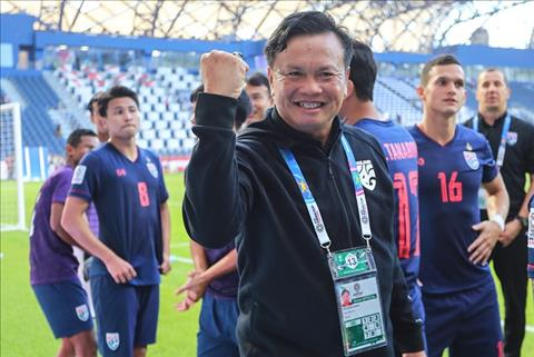 HLV Thái Lan đưa ra lời tuyên bố gây sốc tại King's Cup 2019 hình ảnh