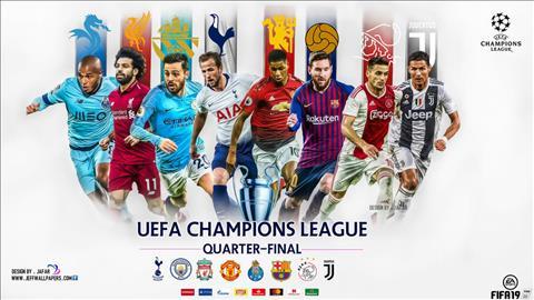 Lịch thi đấu Cúp C1 - Champions League tứ kết trực tiếp K+ hình ảnh