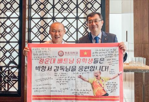 Thầy Park được đại học nước nhà phong tặng danh hiệu giáo sư hình ảnh