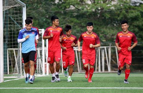 U18 VIệt Nam tự tin trước trận gặp U18 Singapore vào ngày mai hình ảnh