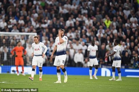Tottenham 0-1 Ajax Eriksen thừa nhận không có bóng mà đá hình ảnh