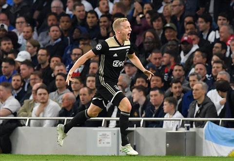 Van de Beek ghi ban duy nhat cua tran dau, dem lai loi the khong nho cho Ajax