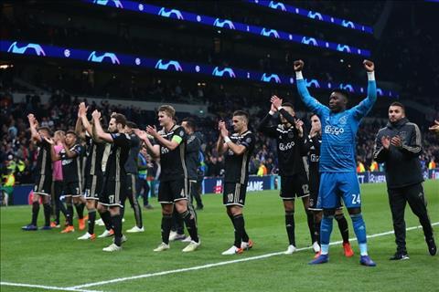 Ajax danh bai Tottenham 1-0