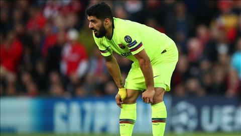 Luis Suarez được gọi lên ĐT Uruguay bất chấp chấn thương hình ảnh